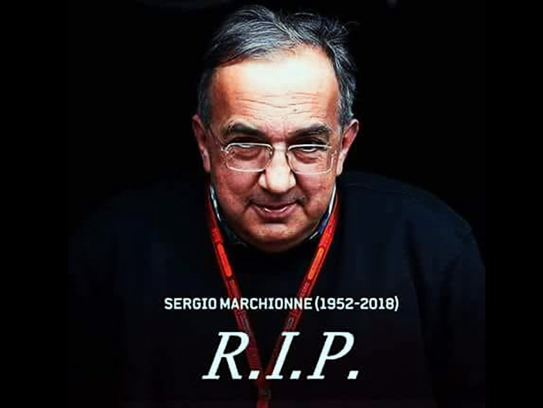 Thanks Sergio Marchionne